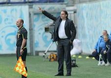 Dinamo (Moscow) beats Alania (Vladikavkaz) - (2:0) Royalty Free Stock Images