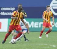 Dinamo (Moscow) beats Alania (Vladikavkaz) - (2:0) Royalty Free Stock Photos