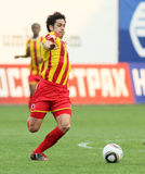 Dinamo (Moscow) beats Alania (Vladikavkaz) - (2:0) Stock Images