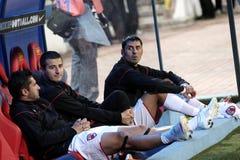 Dinamo players Royalty Free Stock Photography