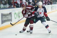 Dinamo Riga beat Slovan Bratislava 6-0 Royalty Free Stock Images