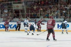Dinamo Riga contre Dinamo Minsk Images stock