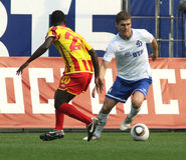 Dinamo's defender Marcin Kowalczyk Stock Image