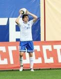 Dinamo's defender Vladimir Granat Royalty Free Stock Images