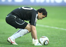 Dinamo's goalkeeper Vladimir Gabulov Royalty Free Stock Photography