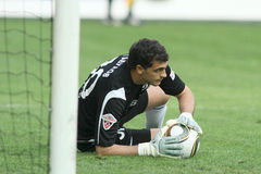 Dinamo's goalkeeper Vladimir Gabulov Stock Photography