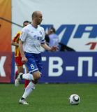 Dinamo's midfielder Dmitry Hohlov Stock Image