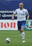 Dinamo's midfielder Dmitry Hohlov royalty free stock photo
