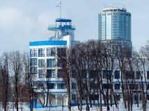 Dinamo stadium próbka konstruktywizm Verkh-Isetskiy staw zdjęcie royalty free