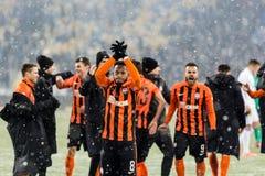 Dinamo ucraina Kyiv - Šakhtar, d della partita di Premier League fotografia stock
