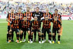 Dinamo ucraina Kyiv - Šakhtar, A della partita di Premier League fotografie stock libere da diritti