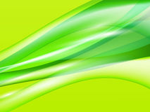 Dinamyc flow, stylized  waves, vector Royalty Free Stock Image