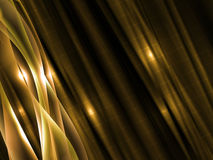 Dinamyc flow, stylized  waves, vector Royalty Free Stock Photography
