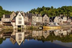 Dinan布里坦尼法国 免版税库存图片