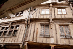 Dinan, Bretaña Fotografía de archivo