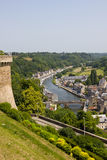 Dinan in Brittany Royalty Free Stock Photo