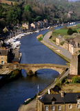 Dinan brittany Stock Photography