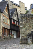 Dinan (Brittany): historic city Royalty Free Stock Image