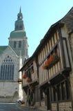 Dinan en Francia Imagenes de archivo
