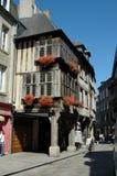 Dinan Frankreich Lizenzfreie Stockbilder