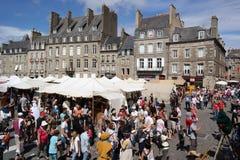 Dinan Knights Festival Stockfoto