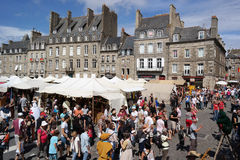 Dinan Knights Festival Stock Photo