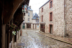 Dinan town in France Stock Image