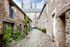 Dinan town in France Stock Photo