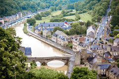 Dinan town in France Stock Photography