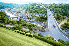 Dinan town in France Royalty Free Stock Photography