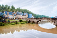 Dinan town in France Stock Photos