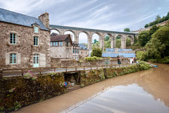 Dinan town in France Royalty Free Stock Images