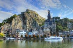 Dinant, Бельгия стоковое изображение rf