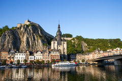 Dinant Ardennes Belgium Stock Photo