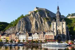 Dinant Belgia Obrazy Royalty Free