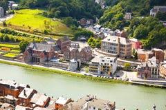 Dinant in Belgien Lizenzfreie Stockfotos