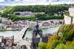 dinant Belgien royaltyfri foto