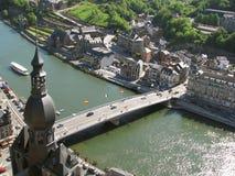 Dinant (Belgien) Stockbild