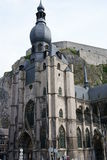 Dinant Cathedral Royalty Free Stock Photo