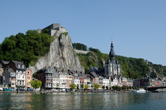 Dinant Panorama Stockfotos