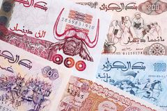 Dinar algérien, un fond