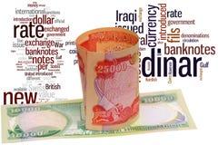 Dinar de Iraq libre illustration