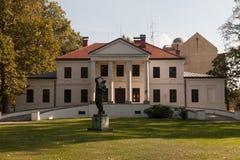Dinar del ¾ de VaraÅ del observatorio de la ciudad Fotografía de archivo