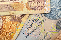 Dinar of Iraq Stock Images