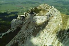 dinara马里山山顶troglav 图库摄影