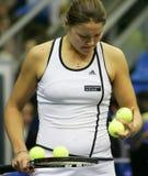 Dinara Safina. Russian tennis player Stock Photography