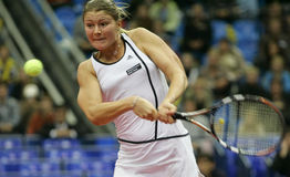 Dinara safina. Russian tennis player stock photos