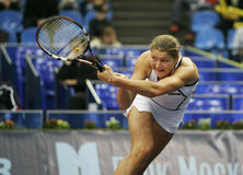 Dinara safina. Russian tennis player royalty free stock image