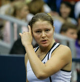 Dinara safina. Russian tennis player stock photography
