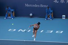 Dinara Safina on the China Open Stock Photo